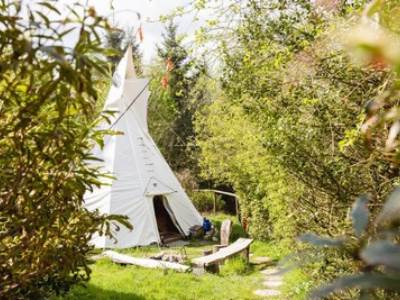 The Tipi at Larkhill Tipis and Yurts