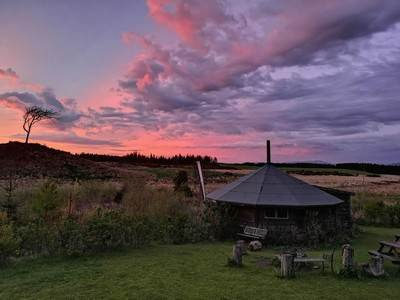 The Round House at Balloch O'Dee Campsite