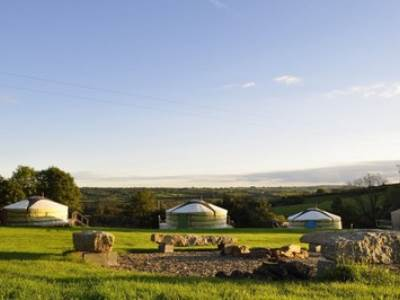 Authentic Mongolian Yurts at Oak Tree Lane