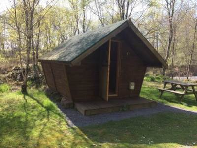 Timber Tent - Sleeps 4 at Quarry Walk Park
