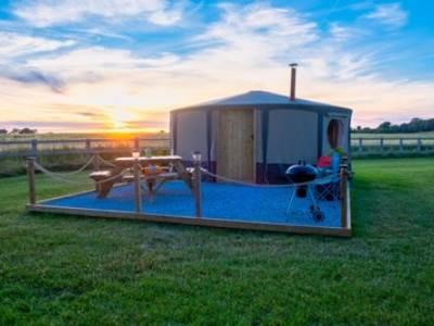 Yurts at Kingfisher Lakes