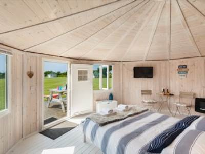 Couples Cabins at Coastal Cabins Glamping