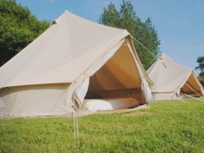 Bell Tents at The Cider Orchard