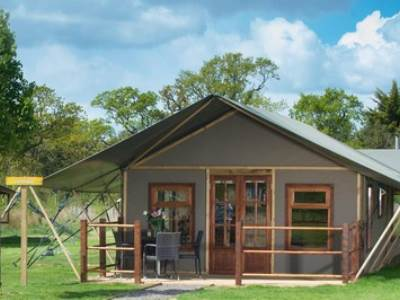 Crealy Safari Tents with Halogen Hob
