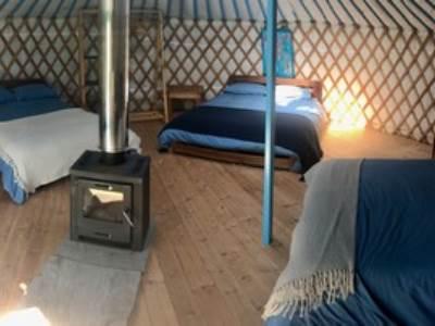 Traditional Yurt at Real Glamping